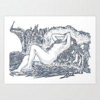 Raya Art Print
