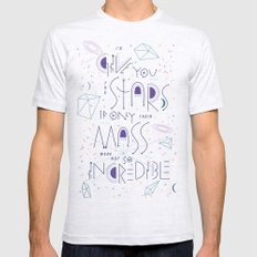 Haikuglyphics - Dear Someone SMALL Ash Grey Mens Fitted Tee