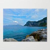 Sorrento: Amalfi Coast, … Canvas Print