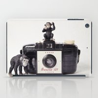 The Monkies And The Brow… iPad Case