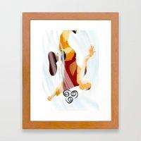 Avatar Aang II Framed Art Print