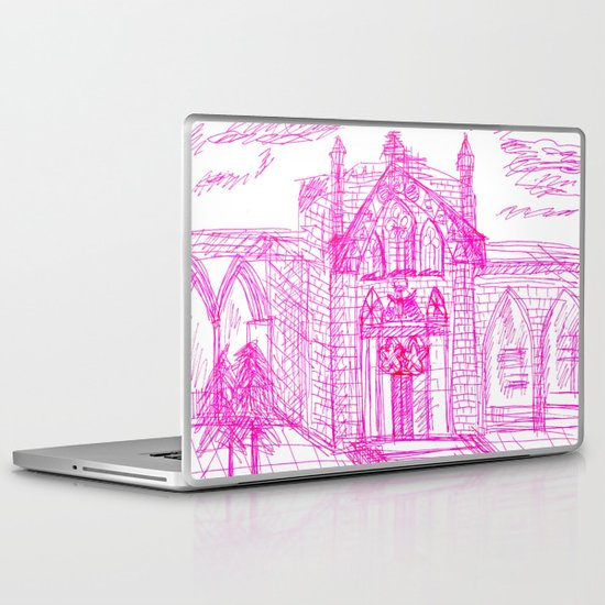 Building sketch Laptop & iPad Skin