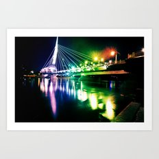 Provencher Bridge Art Print