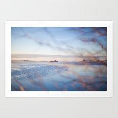 The Sea. Art Print