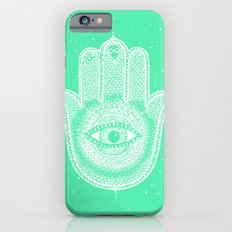 Hamsa lucky green Slim Case iPhone 6s