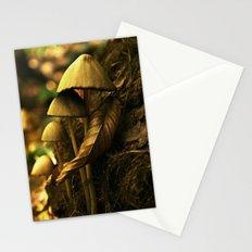 Magic mushroom family Stationery Cards