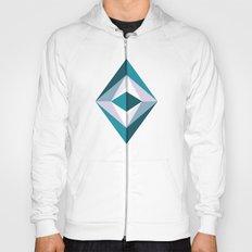 The Blue Diamond (Geometric pattern series) Hoody