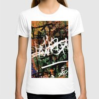 graffiti T-shirts featuring Graffiti  by A'lysia Alcorn