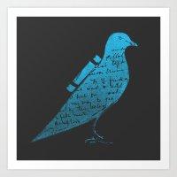 The Original Tweet No.3 Art Print