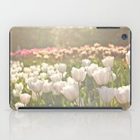 Tulips sunbathed iPad Case