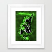 Snake Eyes GL Framed Art Print