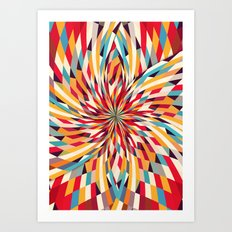 In Flower Art Print