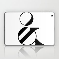 Typography Letter Q Laptop & iPad Skin