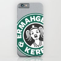 iPhone & iPod Case featuring Ermahgerd, Kerfer! by powerpig