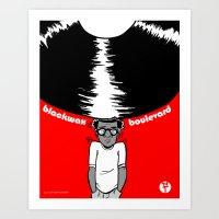 Blackwax Boulevard Poste… Art Print