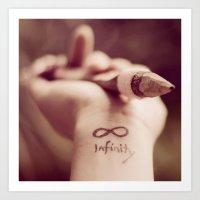 Infinity... And Beyond!  Art Print