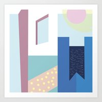Hotel Mayfair Art Print