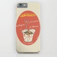 iPhone & iPod Case featuring Die Nudelbox by LostInMyMind