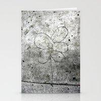 Sidewalk Flower Stationery Cards