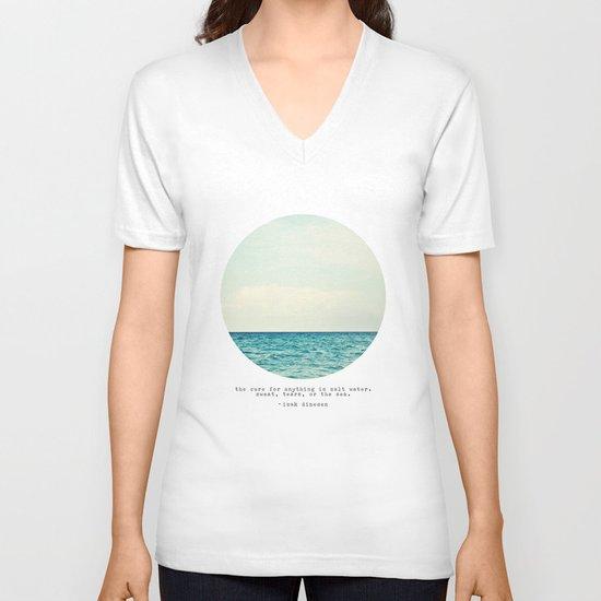 Salt Water Cure V-neck T-shirt