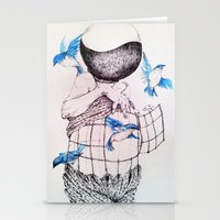 Human Flight Stationery Cards