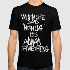 Some advice. SMALL Mens Fitted Tee Black