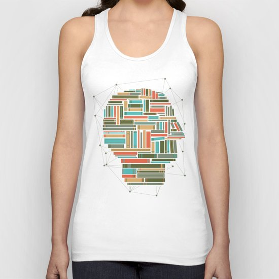 Socially Networked. Unisex Tank Top