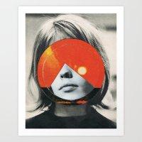 girls Art Prints featuring girls by Hugo Barros