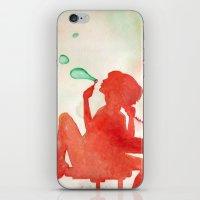 Desk Daydream iPhone & iPod Skin
