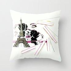Son Paris 1.0 Throw Pillow