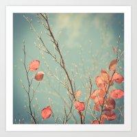 The Winter Days Of Autum… Art Print