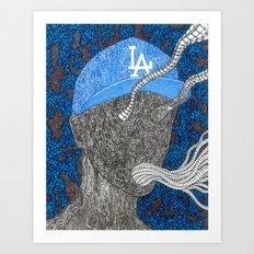 Represent LA Art Print