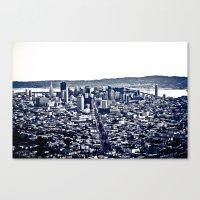 San Fran   Canvas Print