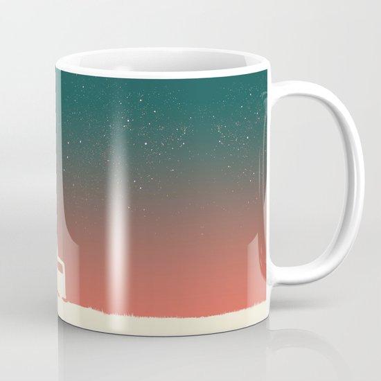 Quiet Night - starry sky Mug