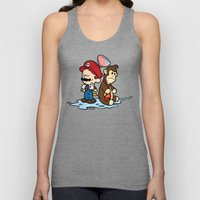 Mario and Kong Unisex Tank Top