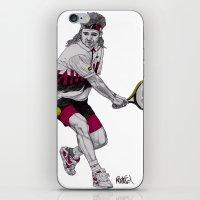 Tennis Agassi iPhone & iPod Skin