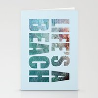 LIFE'S A BEACH Stationery Cards