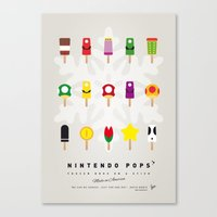 My NINTENDO ICE POP - No00 Canvas Print