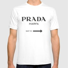 Marfa Mens Fitted Tee White SMALL