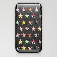 Dancing Stars iPhone & iPod Skin
