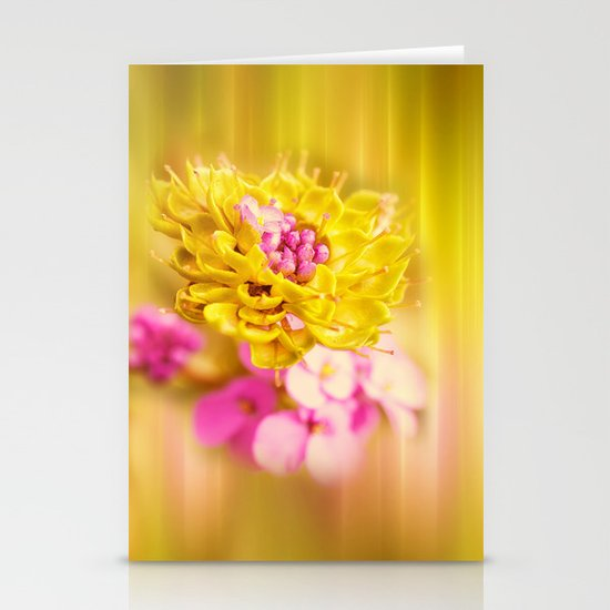The Sound of Light and Color Stationery Card