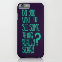 iPhone & iPod Case featuring Do You Want To See by eugeniaclara