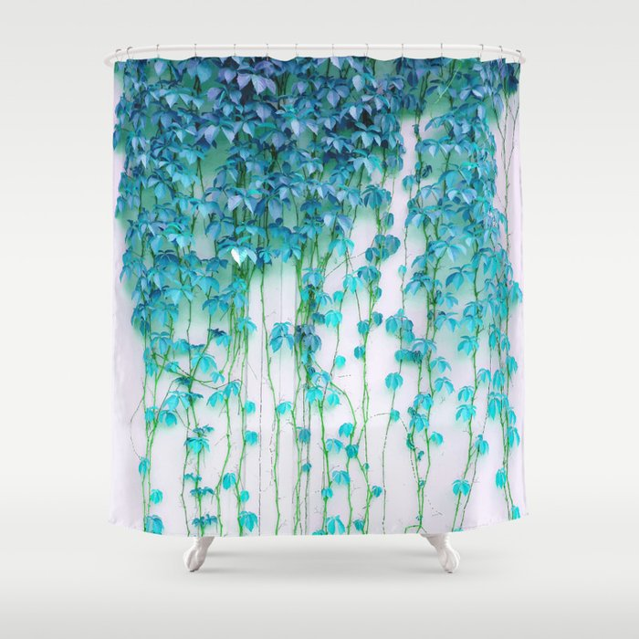 average absence society6 shower curtain by. Black Bedroom Furniture Sets. Home Design Ideas