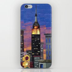 New York New York iPhone & iPod Skin