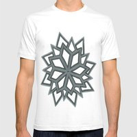 Just Another Flower 2 Mens Fitted Tee White SMALL