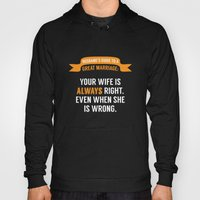 Wife is Always Right. Hoody