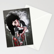 without a heartbeat Stationery Cards