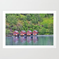 Flam - Norway Art Print