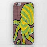 Octotile iPhone & iPod Skin
