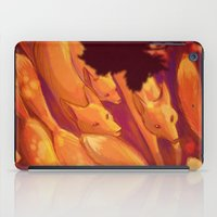FLIGHT OF THE FOXES iPad Case
